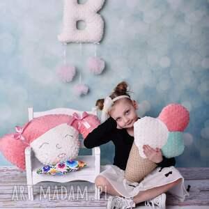 pokoik dziecka przytulanka-minky poduszka dziecięca dziewczynka