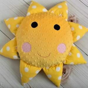 hand made pokoik dziecka poduszka słońce dziecięca