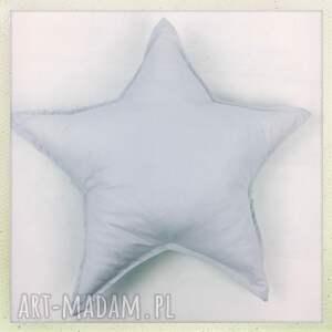 szare pokoik dziecka star poduszka gwiazdka