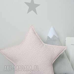 pokoik dziecka gwiazdka poduszka różowa