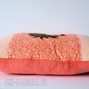 czerwone pokoik dziecka poduszka - jeż