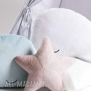 hand-made pokoik dziecka poduszka klasyczna rozgwiazda