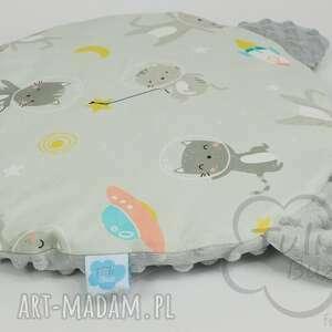 unikalne pokoik dziecka płaska podusia miś to pierwsza poduszka