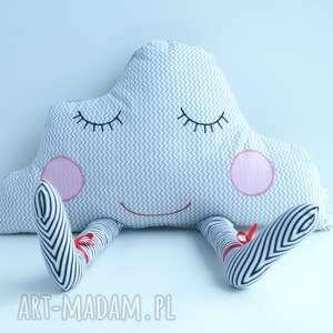 szare pokoik dziecka poduszka przytulanka - senna