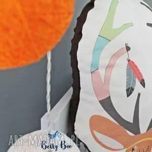 brązowe pokoik dziecka jelonek poduszka przytulanka, indiański