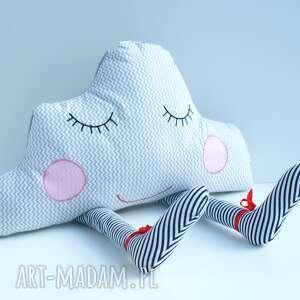 efektowne pokoik dziecka chmurka poduszka przytulanka - senna