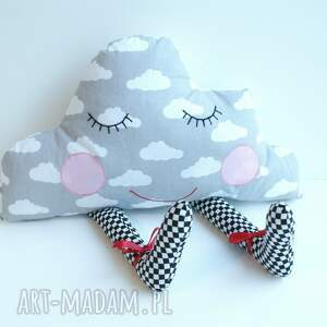 niepowtarzalne pokoik dziecka chmurka poduszka przytulanka - senna