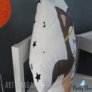 niebanalne pokoik dziecka sowa poduszka przytulanka, indiańska