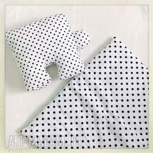 unikalne pokoik dziecka biały poduszka puzzel groszki