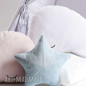 pokoik dziecka poduszka rozgwiazda - niebieski