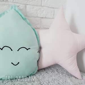 eleganckie pokoik dziecka kropla poduszka w kształcie kropli