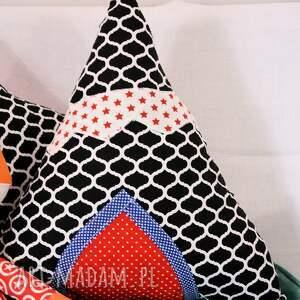 ręczne wykonanie pokoik dziecka poduszka - wigwam / tipi