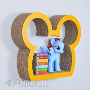 pokoik dziecka półka na książki zabawki myszka