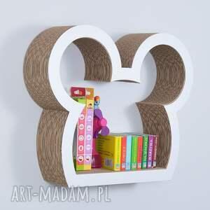 handmade pokoik dziecka półka na książki zabawki myszka