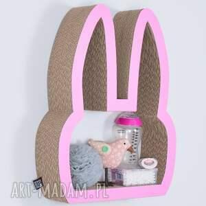 atrakcyjne pokoik dziecka półka na książki zabawki królik