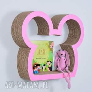awangardowe pokoik dziecka półka na książki zabawki myszka