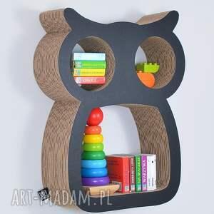 handmade pokoik dziecka półka na książki zabawki sowa