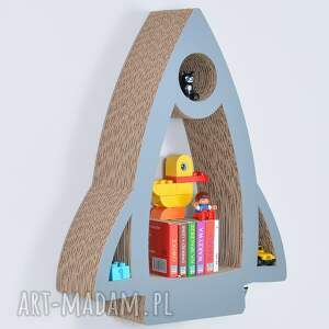 pokoik dziecka półka na książki zabawki rakieta