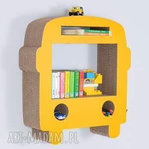 niepowtarzalne pokoik dziecka półka na książki zabawki bus ecoono