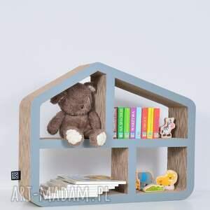 pokoik dziecka chłopiec półka na książki zabawki domek