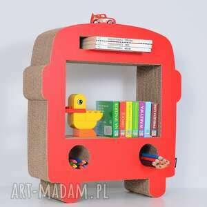 pokoik dziecka chłopiec półka na książki zabawki bus ecoono