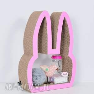 pokoik dziecka chłopiec półka na książki zabawki królik