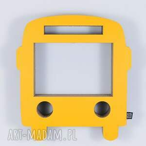 chłopiec pokoik dziecka półka na książki zabawki bus ecoono