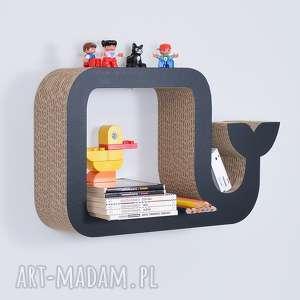 handmade pokoik dziecka półka na książki zabawki wieloryb