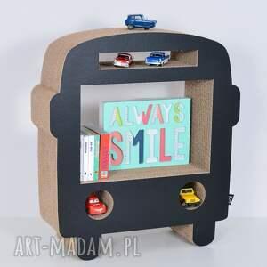 intrygujące pokoik dziecka półka na książki zabawki bus ecoono