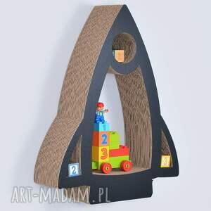 unikatowe pokoik dziecka półka na książki zabawki rakieta