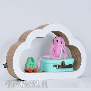 intrygujące pokoik dziecka chłopiec półka na książki zabawki chmurka