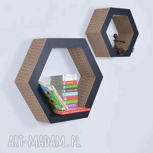 pokoik dziecka półka na książki zabawki hexagon