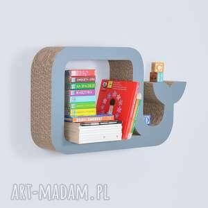 pokoik dziecka półka na książki zabawki wieloryb