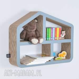 pokoik dziecka półka na książki zabawki domek