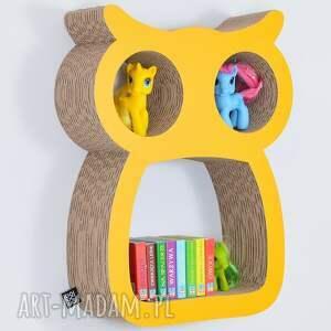 pokoik dziecka półka na książki zabawki sowa