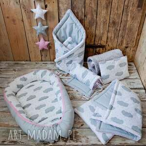 szare pokoik dziecka pościel dla noworodka