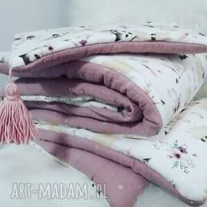 ręczne wykonanie pokoik dziecka pościel do łóżeczka bawełna