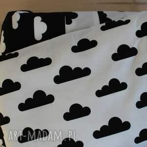 czarno pokoik dziecka pościel do łóżeczka biało-czarne