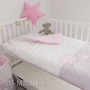 białe pokoik dziecka gwiazdki pościel do łóżeczka słodkie sny