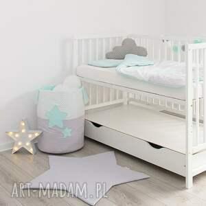 miętowy pokoik dziecka pościel do łóżeczka słodkie sny
