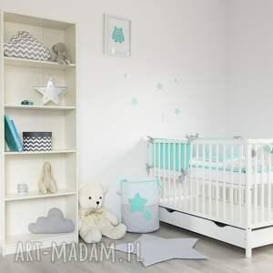 gwiazdy pokoik dziecka kolorowe pościel do łóżeczka słodkie sny