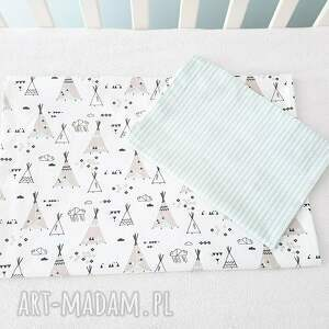 białe pokoik dziecka dziecko pościel dziecięca coramelli tipi