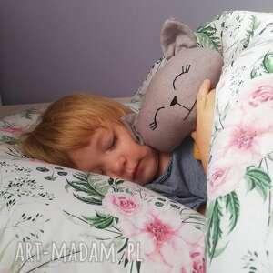 różowe pokoik dziecka kołdra pościel dziecięca z wypełnieniem