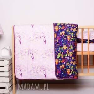 różowe pokoik dziecka pościel dziecięca z kołderk&#261