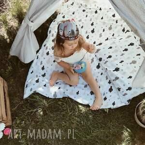 białe pokoik dziecka łóżeczko pościel dziecięca coramelli kaktusy