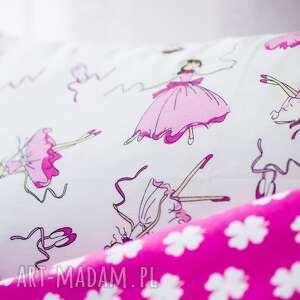 różowe pokoik dziecka posciel pościel dziecięca baletnice