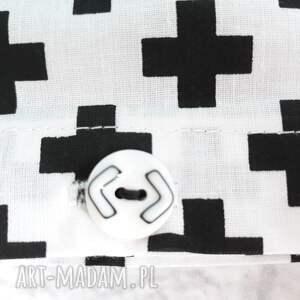 przytulanie pokoik dziecka pościel dziecięca czarno biała