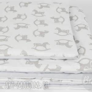 białe pokoik dziecka pościel-z-wypełnieni pościel z wypełnieniem 75x100 konik
