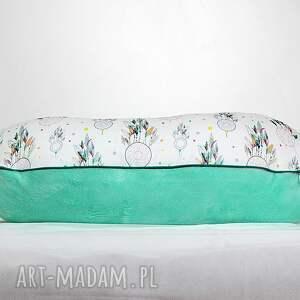 zielone pokoik dziecka poduszka poszewka na poduszkę rogal boppy