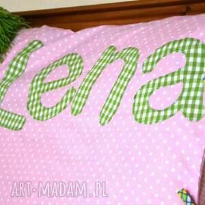 trendy pokoik dziecka imię poszewka na poduszkę z imieniem